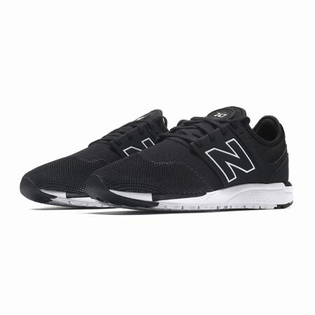 newbalance 男款 247系列 经典复古跑步鞋 mrl247nk 黑色 41.5码