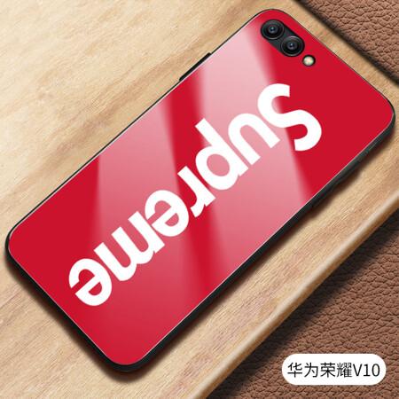 hoolfine荣耀10手机壳网红v10潮牌个性创意荣耀v9全包
