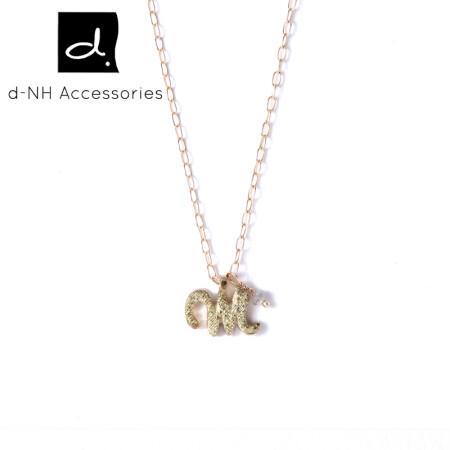 ����zd�h�^K�Nh�.��Y�_【d-nh】字母吊坠 时尚k金钻石项链女款 百搭简约吊坠