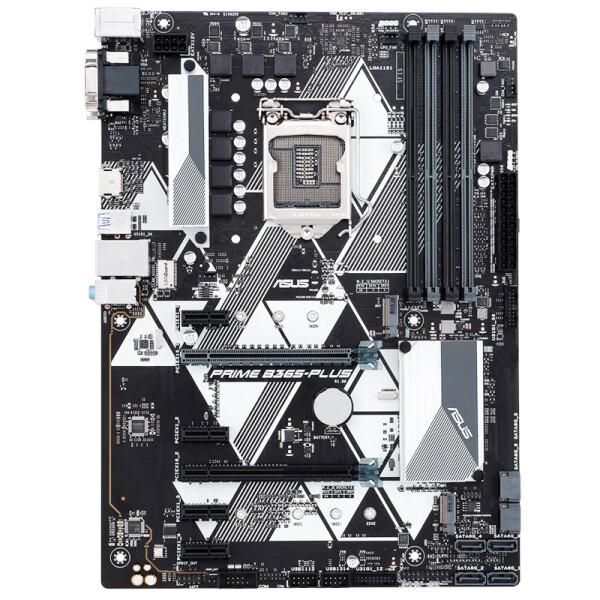华硕主板PRIME B365-PLUS ATX台式