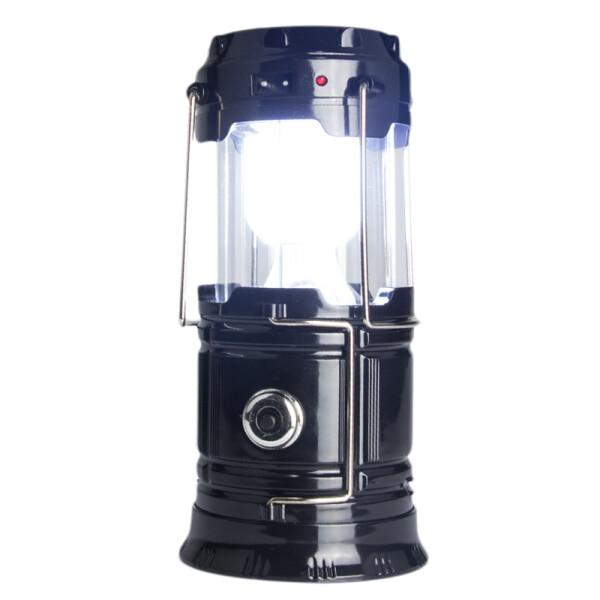 山拓野营灯 帐篷灯 露营灯 营地灯led内置锂电池太阳能户外照明 12起购