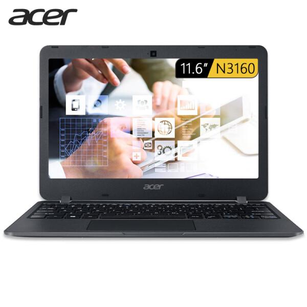 宏碁(Acer)墨舞 TMB117 11.6英寸便携笔记本(四核N3160 4G 128G SSD 蓝牙 防眩光雾面屏 Win10 1.43kg)