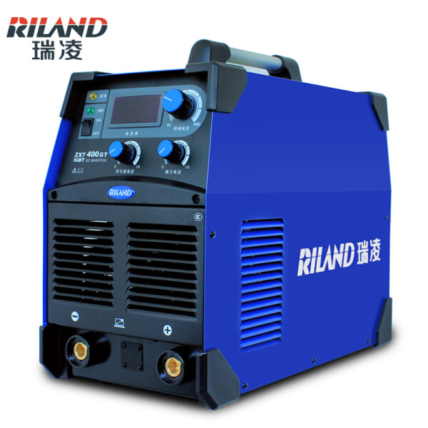 瑞凌电焊机zx7-400GT轻工业级逆变直流手工电弧焊机380v 官方标配