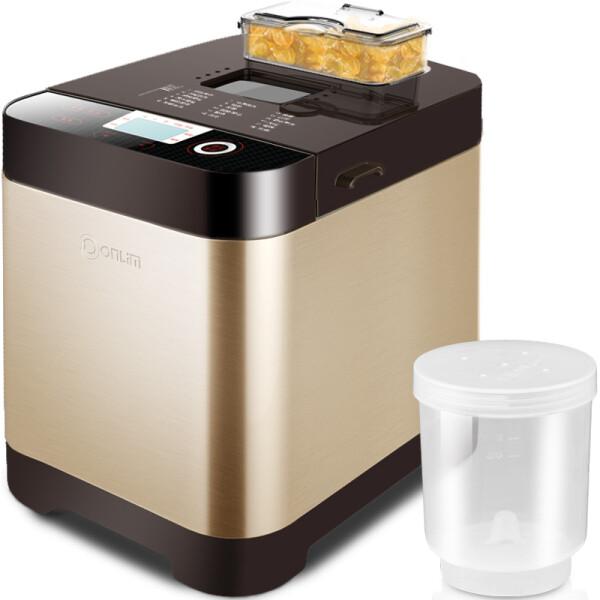 东菱(Donlim) 面包机 蛋糕家用早餐机全自动撒料 DL-T06S-K