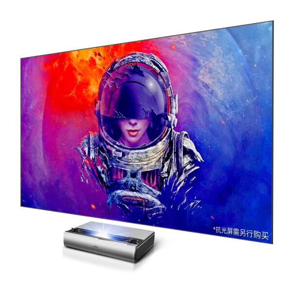 坚果(JmGO)SC 激光电视 家用投影仪 投影机 (1080P全高清 天窗滑盖 HIFI音响 智能影院)