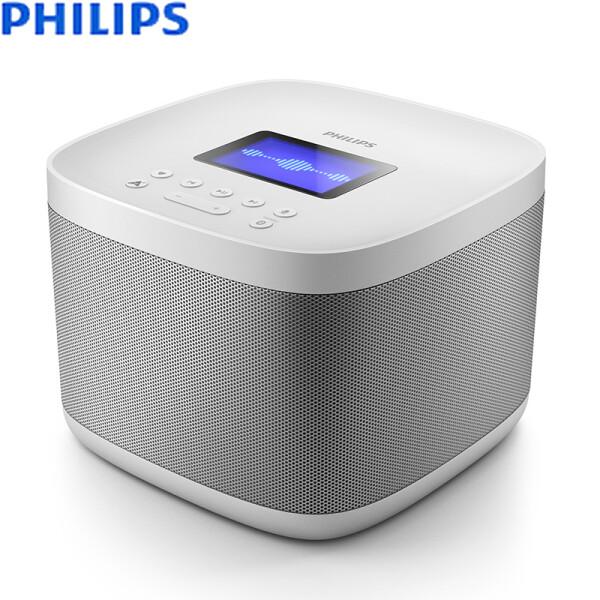 飞利浦(PHILIPS) AW6005A/93 小飞音箱HiFi音响蓝牙家居客厅有源智能WiFi语音音箱 苹果/安卓手机/电脑小音响
