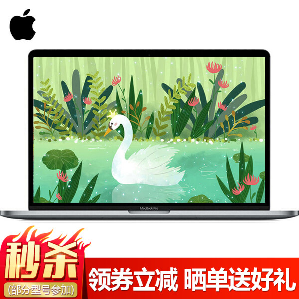 苹果(Apple) Apple MacBook Pro 13.3英寸笔记本 2017年款 MPXV2CH/A深空灰-256GB Bar