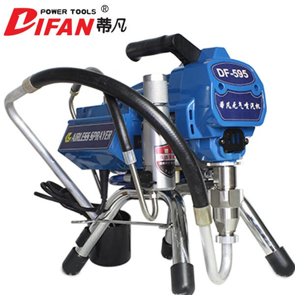 蒂凡(DIFAN POWER TOOLS) 蒂凡电动高压无气乳胶漆喷涂机 油漆涂料喷漆机 DF-595(2800w+4L流量+无刷电机)