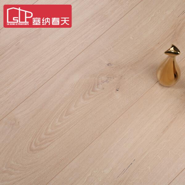 塞纳春天地板强化复合木地板12mm进口环保防水耐磨客厅卧室地暖地板 30平地板全包套餐