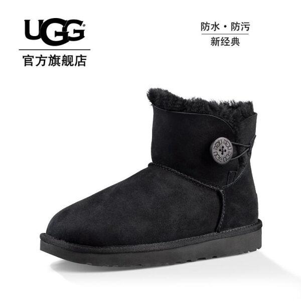 UGG 女士雪地靴经典贝莉迷你靴 1016422 BLK 39