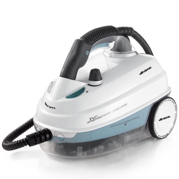 阿里亚特(Ariete) 意大利蒸汽清洁机家用清洗机杀菌除螨蒸汽拖把 白色