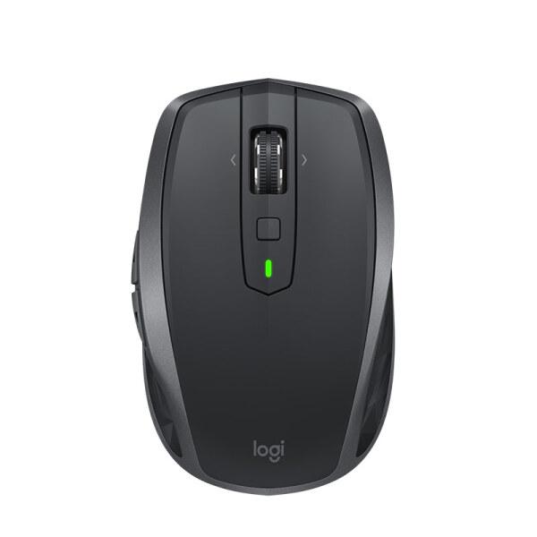 罗技(Logitech)MX Anywhere 2S  无线蓝牙优联双模跨计算机控制鼠标 快速充电 玻璃面可用 旗舰 儒雅黑