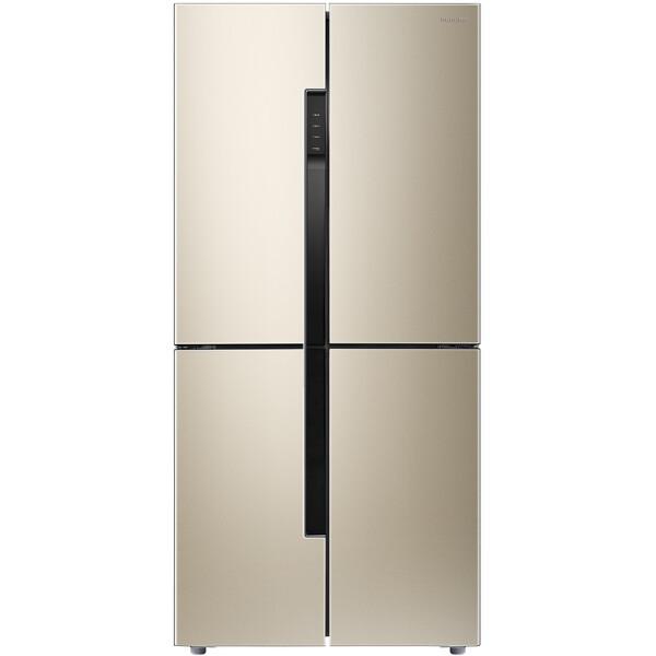 容声(Ronshen) 456升 十字对开门多门冰箱 双变频 一级能效 NAF养鲜 独立变温 BCD-456WD11FP