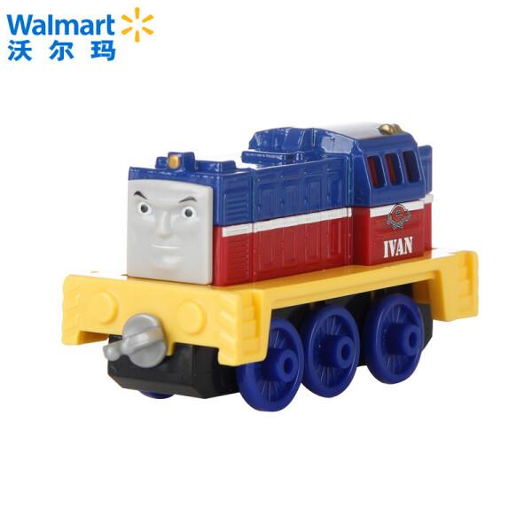 【沃尔玛】托马斯&朋友 泰国进口 托马斯和朋友之合金小火车  款式随机发货 伊万 BHR64 3岁以上