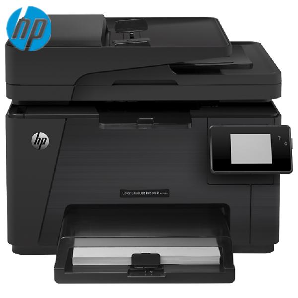 惠普(HP) 打印机 M176n/M180N/181FW/177FW 彩色激光一体机 M177FW(打印+复印+扫描+传真+无线)