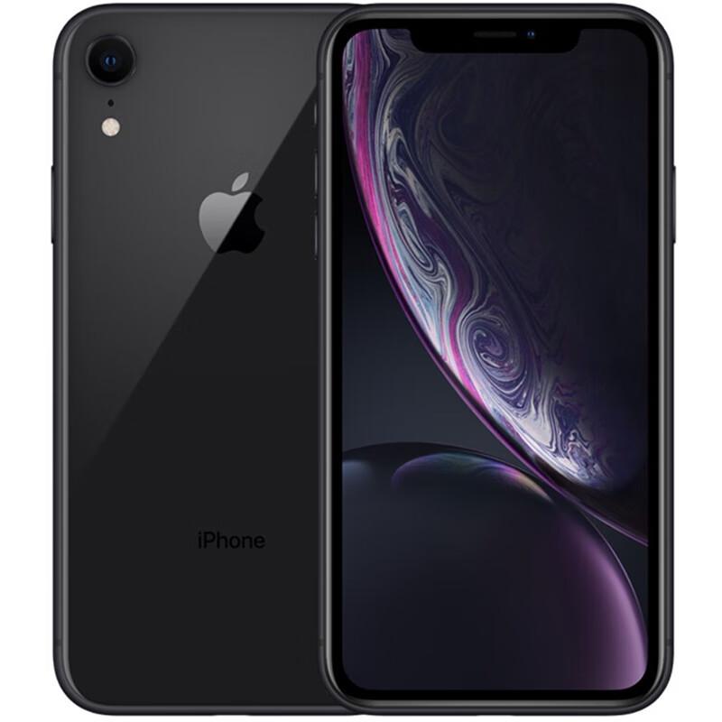Apple 苹果 iPhone XR 手机 全网通 黑色 64GB