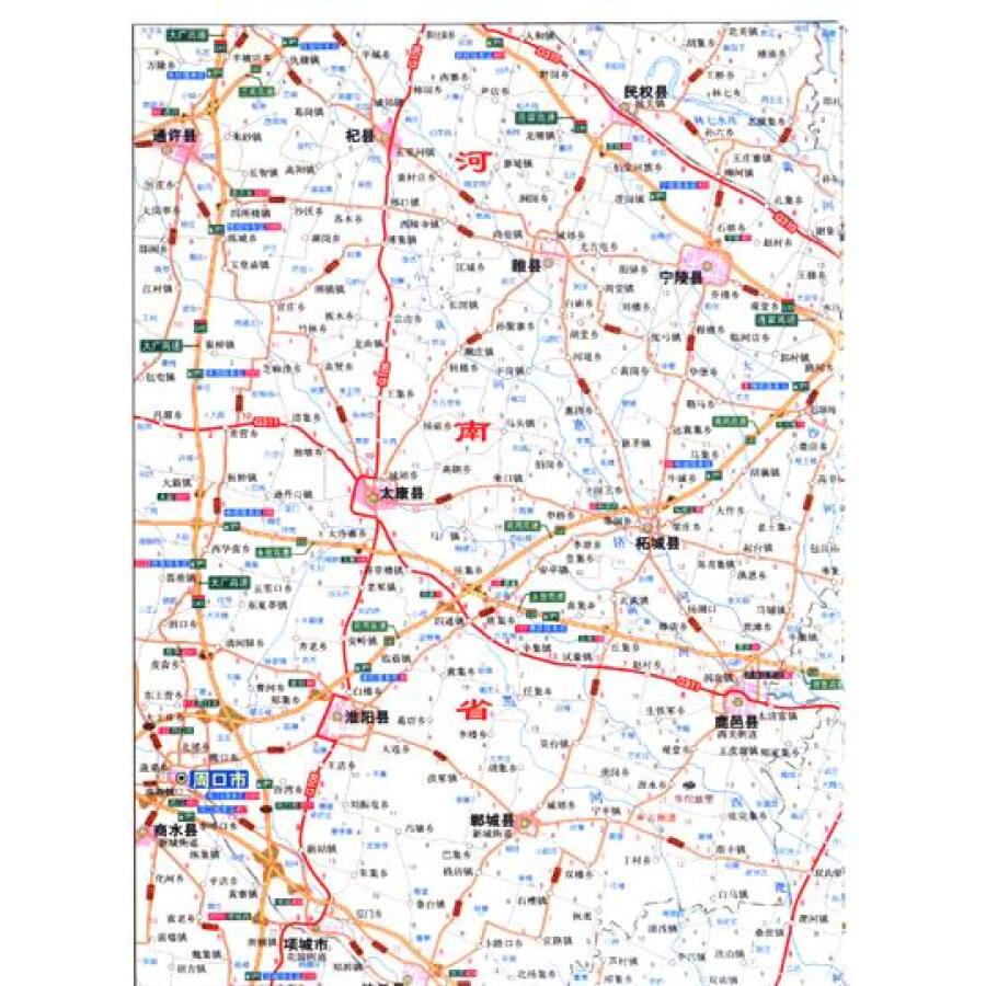 旅游/地图 全国高速公路/铁路地图 公路地图系列:上海 江苏 浙江 安徽
