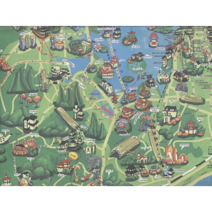 旅游/地图 国内游 手绘中国:手绘杭州(最新超值版)