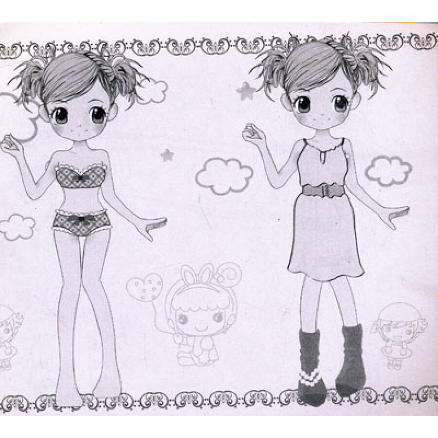 百变时装秀:青春美少女