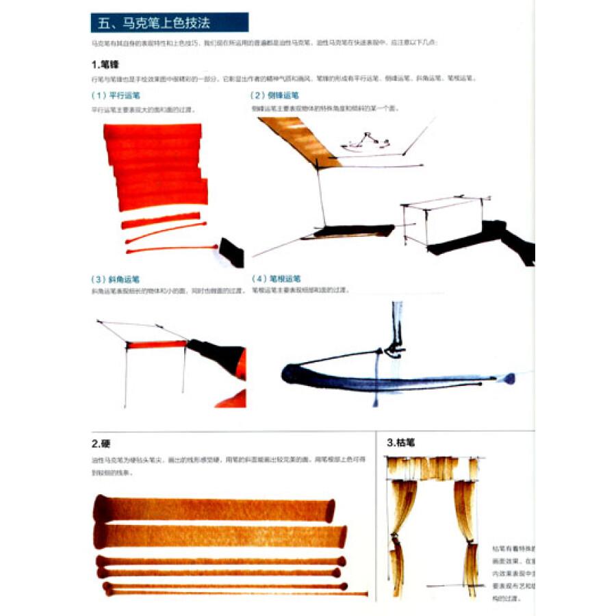 最手绘:室内设计·马克笔效果图步骤详解