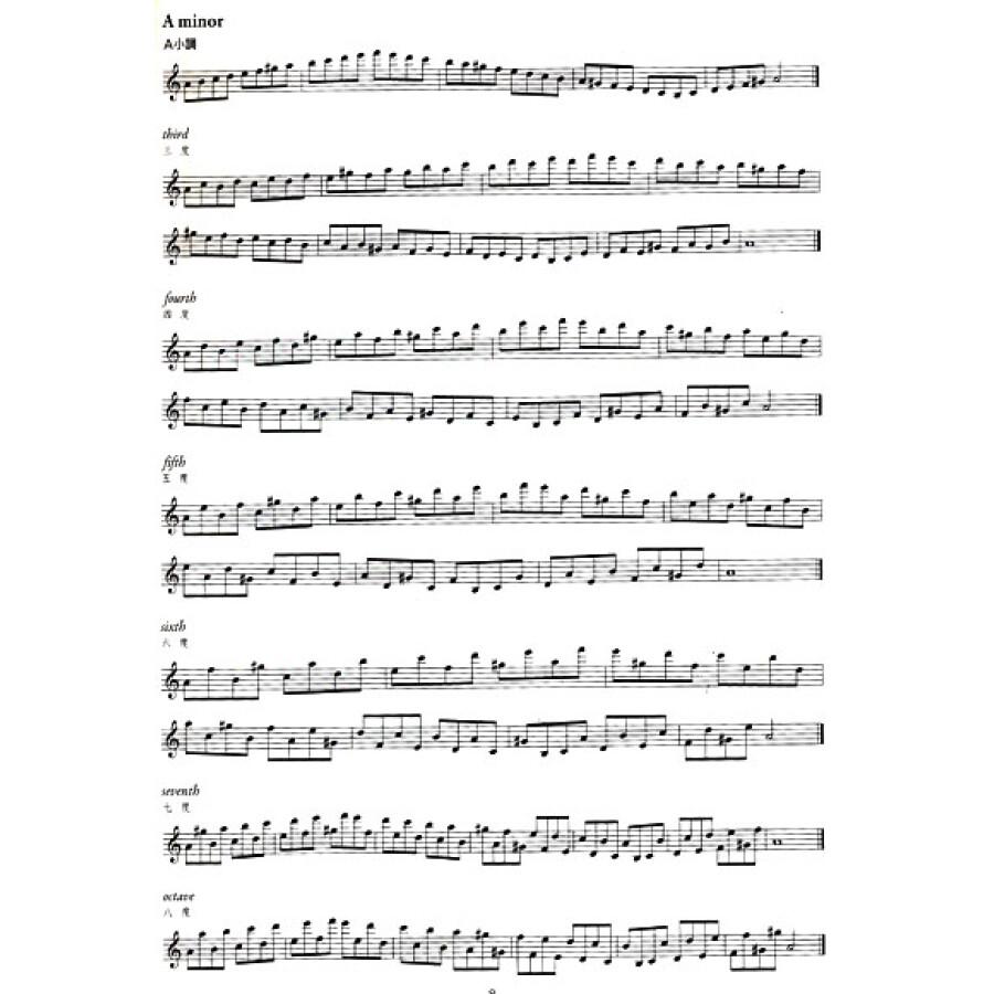 萨克斯风每日练习【壹】:音阶与琶音