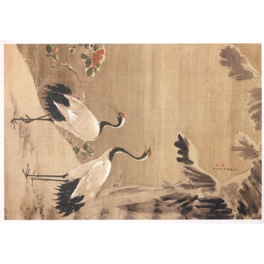 中国古代书画明信片图片