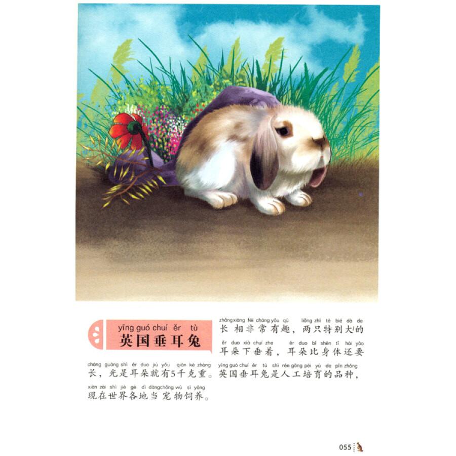 中国少儿必读金典:少儿必读动物图典(彩色金装大全 注音版)