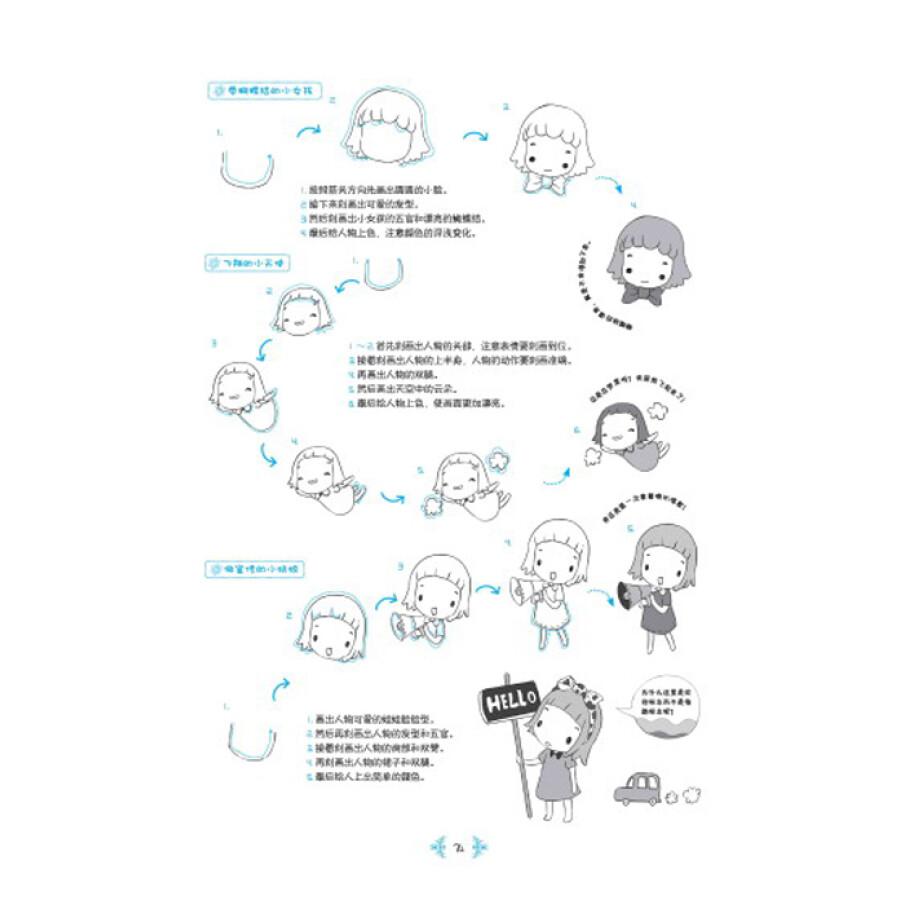 diy相册花边手绘画