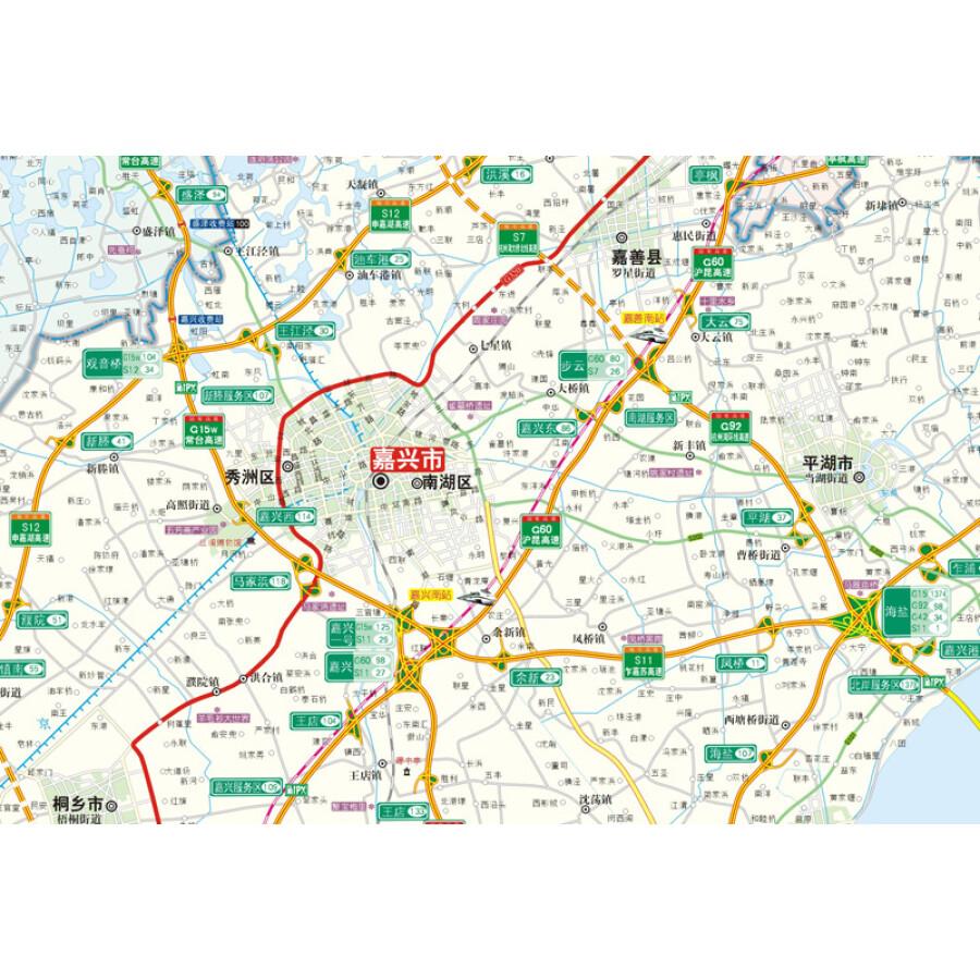 旅游/地图 全国高速公路/铁路地图 2014沪苏杭高速公路网地图