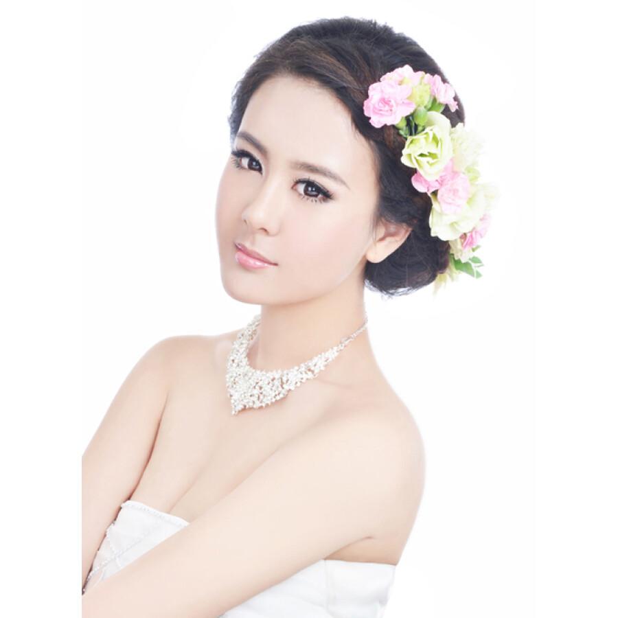 新娘经典鲜花发型100例