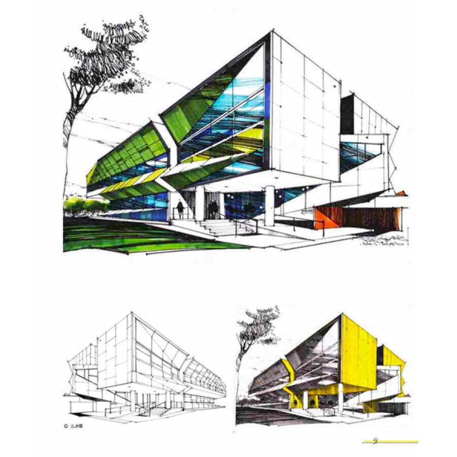 建筑 室内设计,装饰装修 从基础到风格:室内外手绘教程