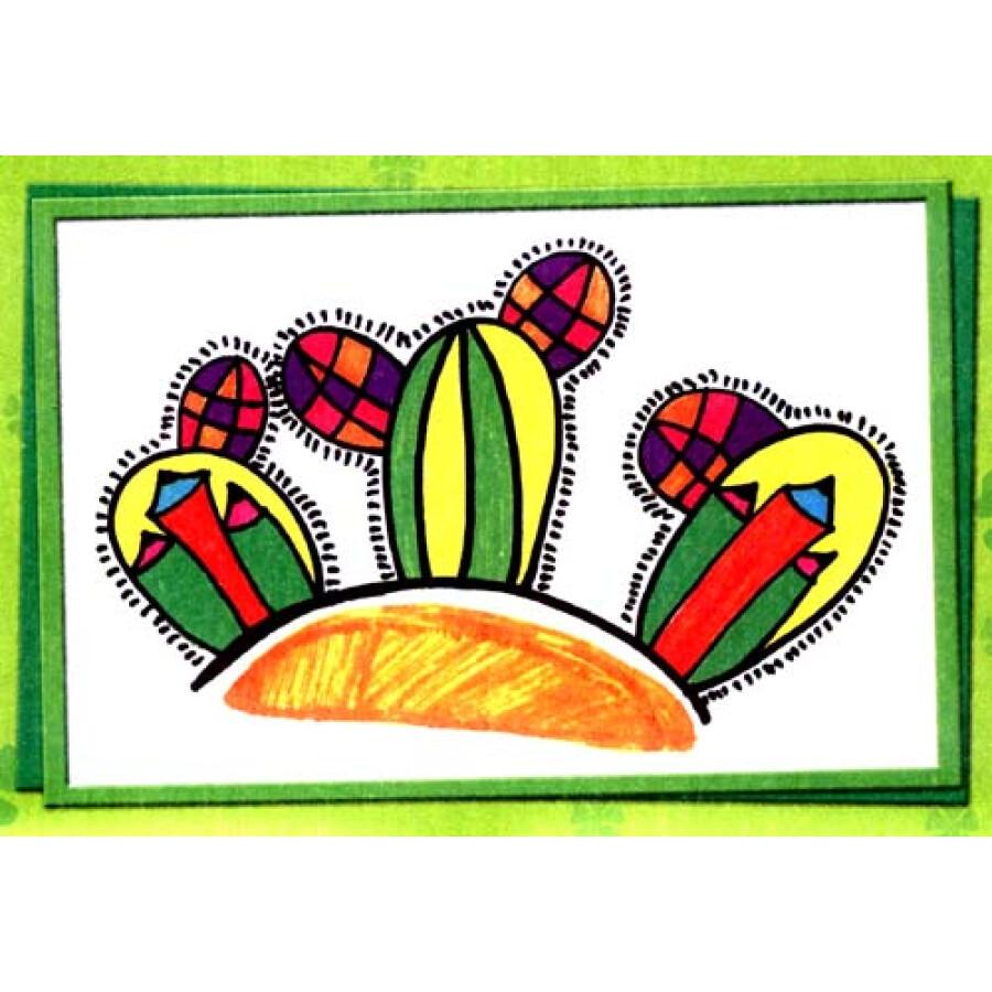 儿童美术创意涂鸦(4)