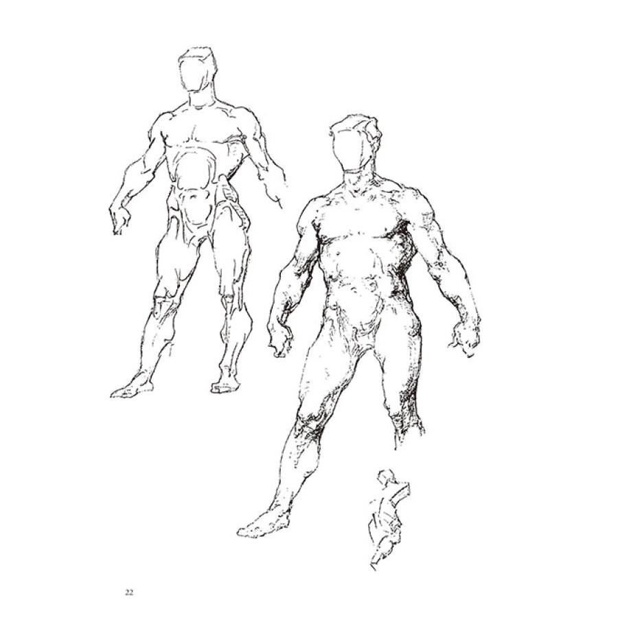 伯里曼人体结构绘画教学(最新第3版)(赠送价值25元精美速写本)