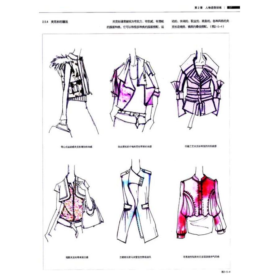 完全绘本:时装设计创意快速表达