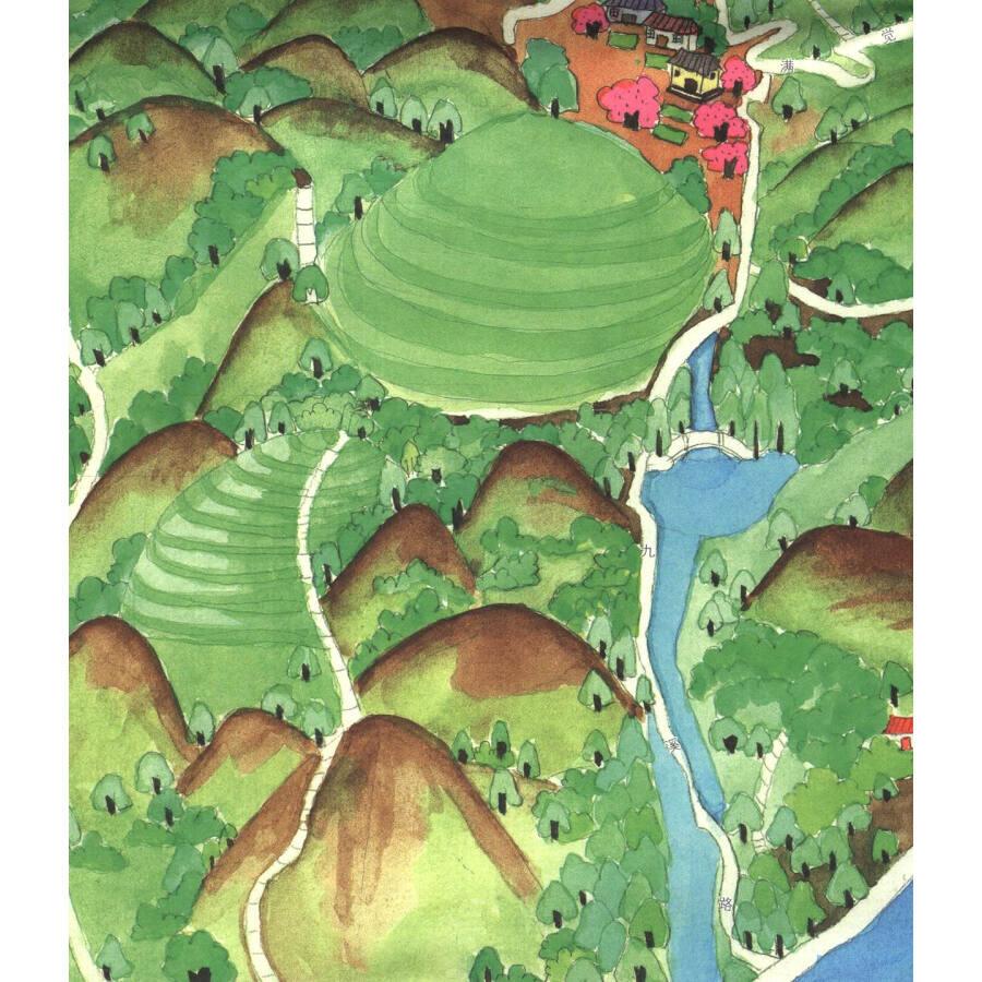 《手绘旅行系列:杭州小吃地图》【摘要