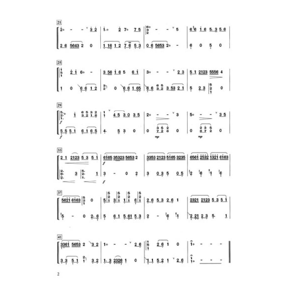 古筝重奏合奏曲集
