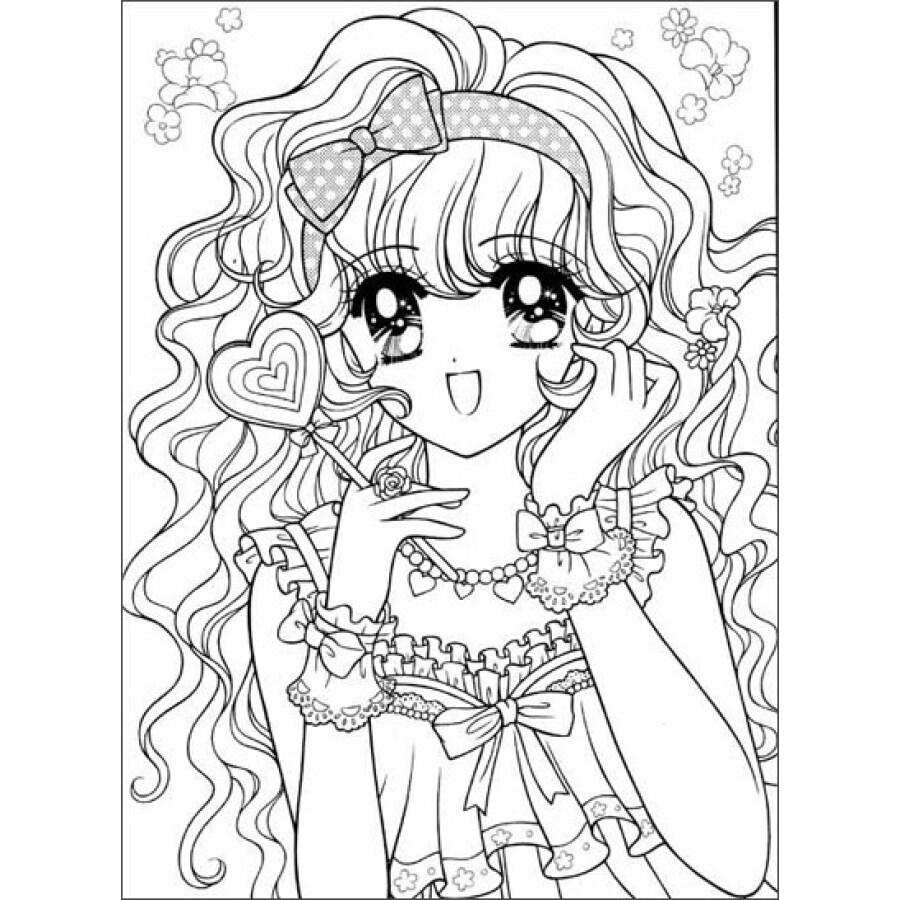 美少女填色本:花仙子