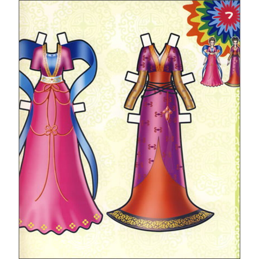 《百变绚丽show:古代服装篇》【摘要图片