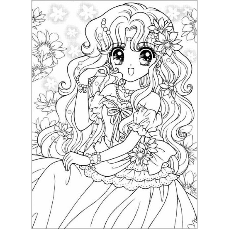 《美少女填色本:花仙子》【摘要