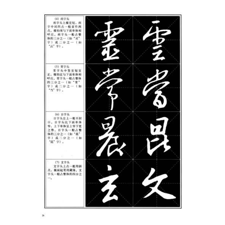 中国书法教程:王羲之圣教序习字帖图片