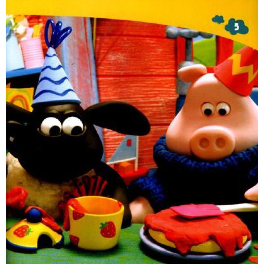 小小羊提米成长故事书系列:提米的生日蛋糕