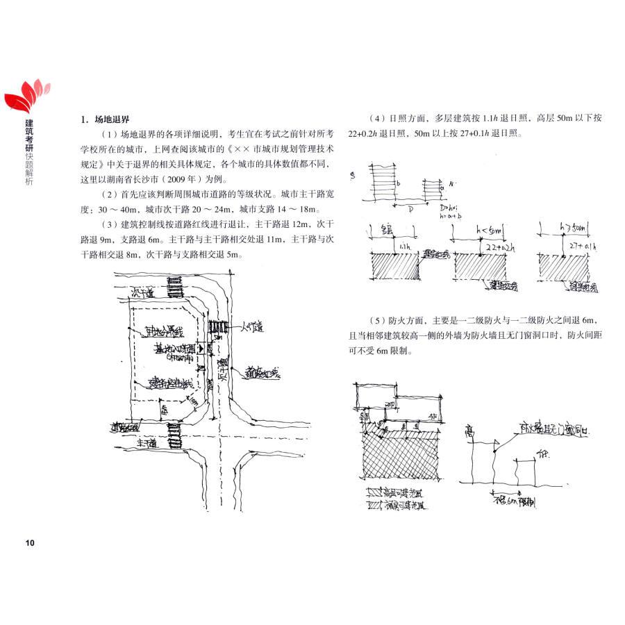 《卓越手绘考研30天:建筑考研快题解析》【摘要