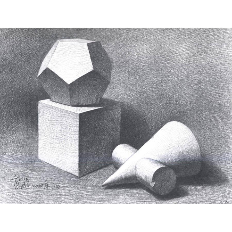 几何体组合图片