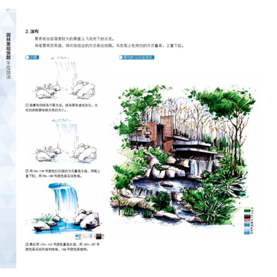 《园林景观快题手绘技法》(任全伟)【摘要