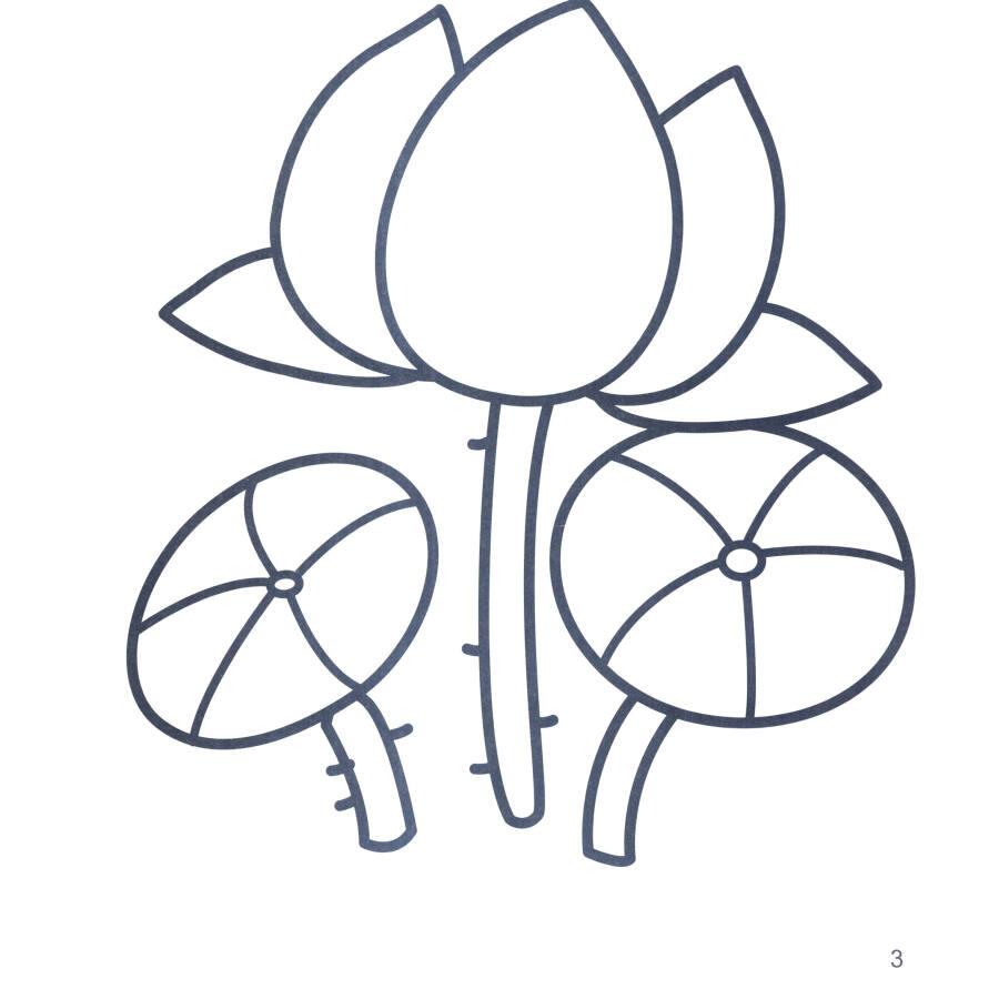 好宝宝涂色书:植物乐园(1-4岁)图片