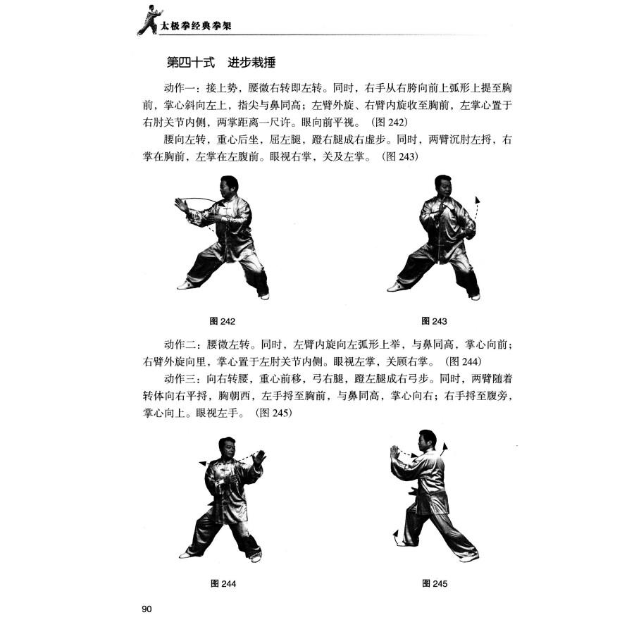 杨式老架太极拳视频
