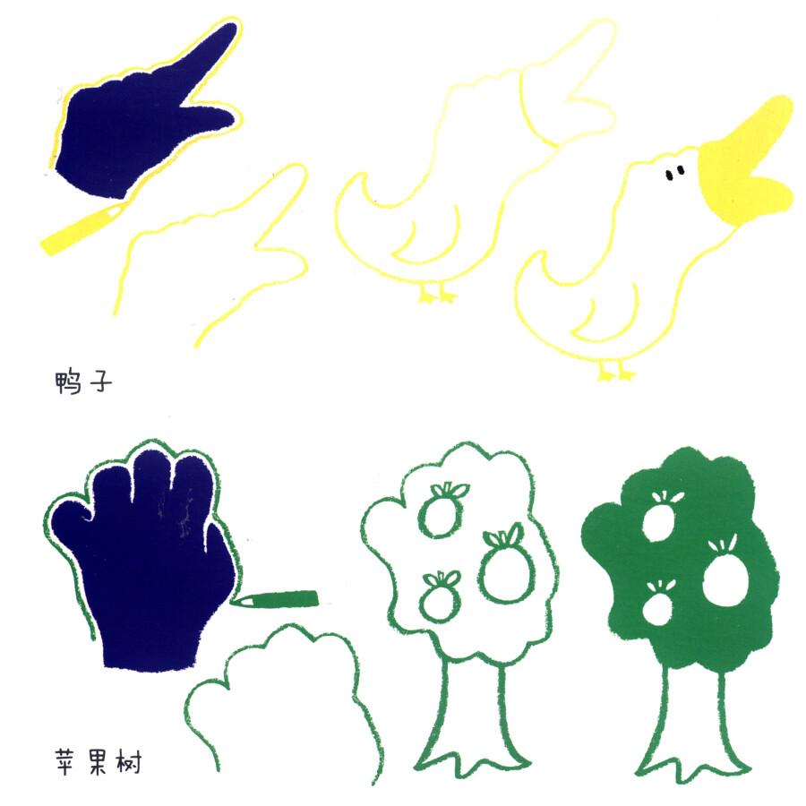 妙妙手指画:小手变变变图片图片