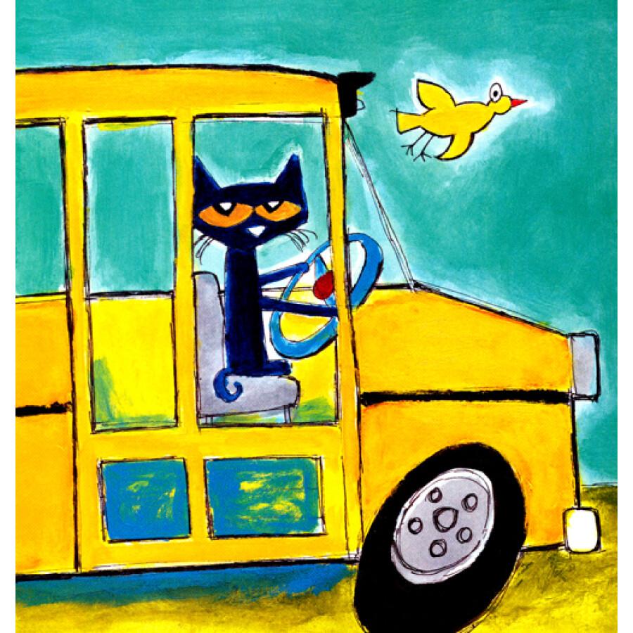 On The Bus 儿歌 公共汽车 英文版 B视频高清图片