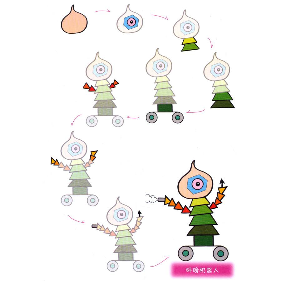 卡通画:机器人》