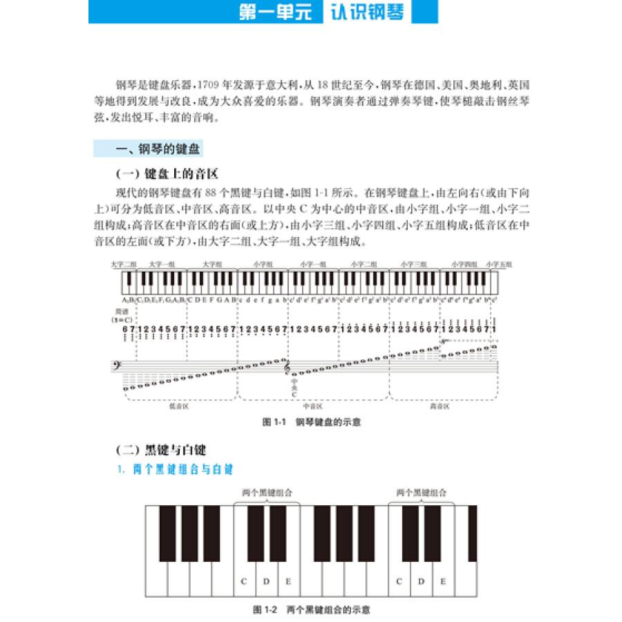 老师再见了钢琴五线谱